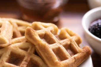 Super Tender Grain Free Waffles & The Perfect Breakfast In Bed! {Low Carb & Keto Friendly}