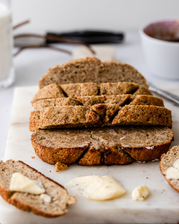 Crusty Gluten Free Keto Bread In Less Than 20 Minutes Inspector Gorgeous
