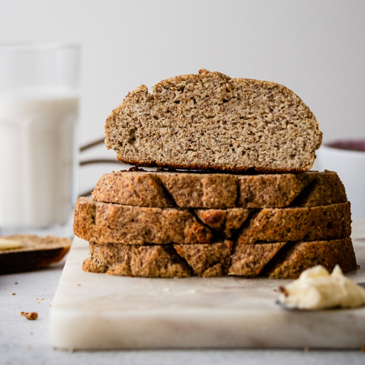 Crusty Keto Bread in LESS Than 20 Minutes! Grain Free & Gluten Free