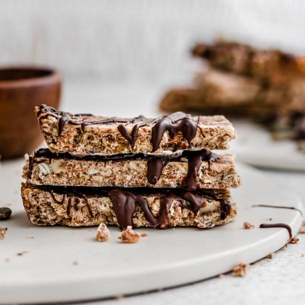 The Crunchiest Keto Granola Bars! Paleo & Keto Friendly