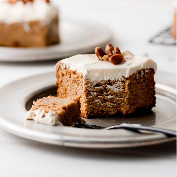 Keto Pumpkin Spice Cake