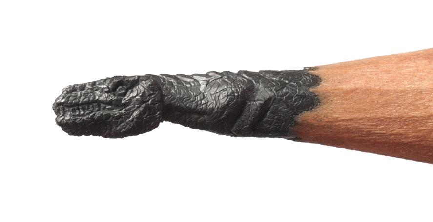 Esculturas na ponta do lápis