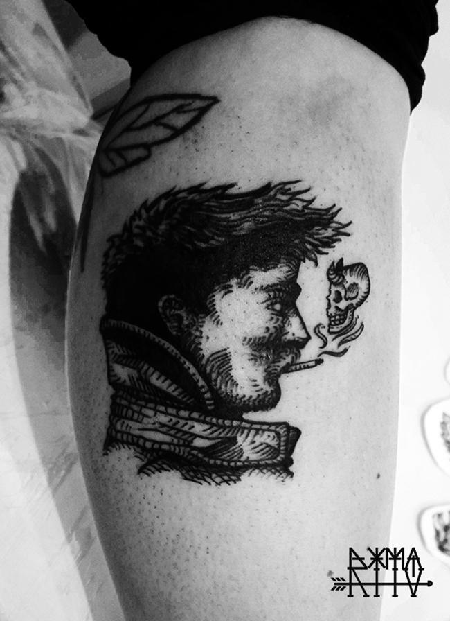 Rito Tattoo Curitiba Smoke