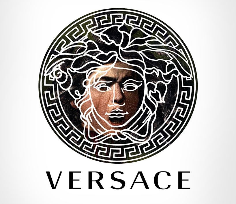 Versace + Medusa, por Caravaggio
