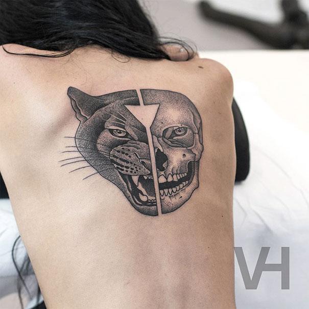 tatuagens-simetricas-natureza-pontilhismo-11
