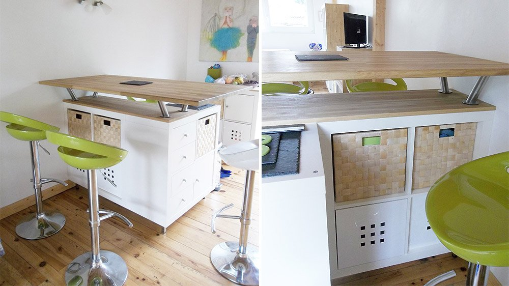 Transformer une tagre IKEA en un lot de cuisine 20