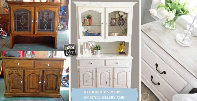 Relooker un vieux meuble style Shabby Chic Vido  20 exemples