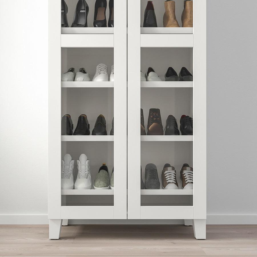 rangement chaussures ikea des idees