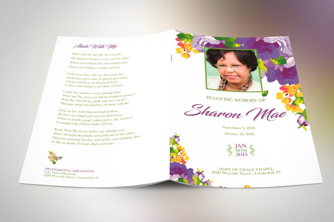 obituary templates photoshop and publisher inspiks market