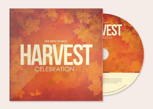 Harvest Celebration CD Artwork Template