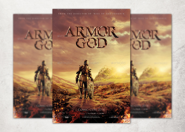Armor Of God Movie Poster Template Inspiks Market