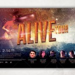 Alive Church Concert Flyer Template
