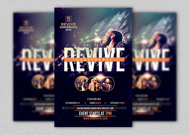 church flyer templates for ministry events