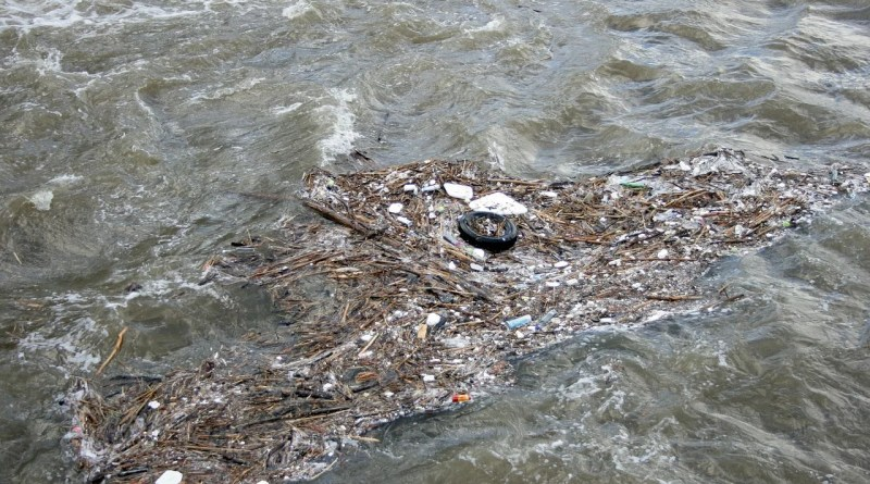 River Water Garbage Dirt Waste