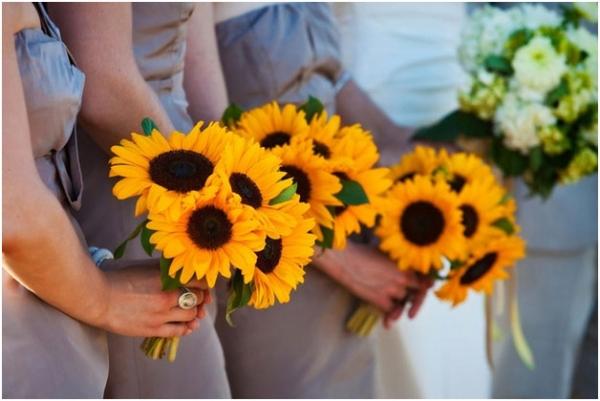 Słoneczniki ślub