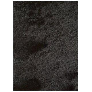 poils longs shaggy noir