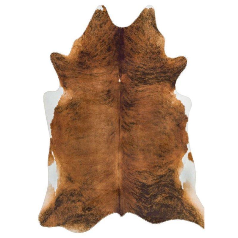 tapis en polyester impression peau de bete chatain 190 x 240 cm par joseph lebon inspiration luxe