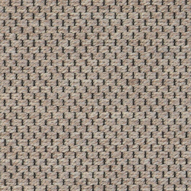 tapis d exterieur sur mesure gris clair en polypropylene finition surjet