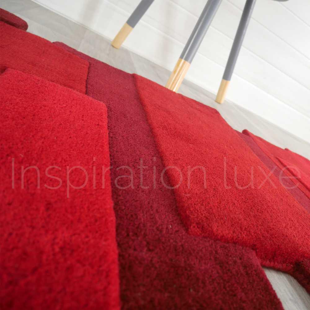 tapis rouge de luxe de couloir design