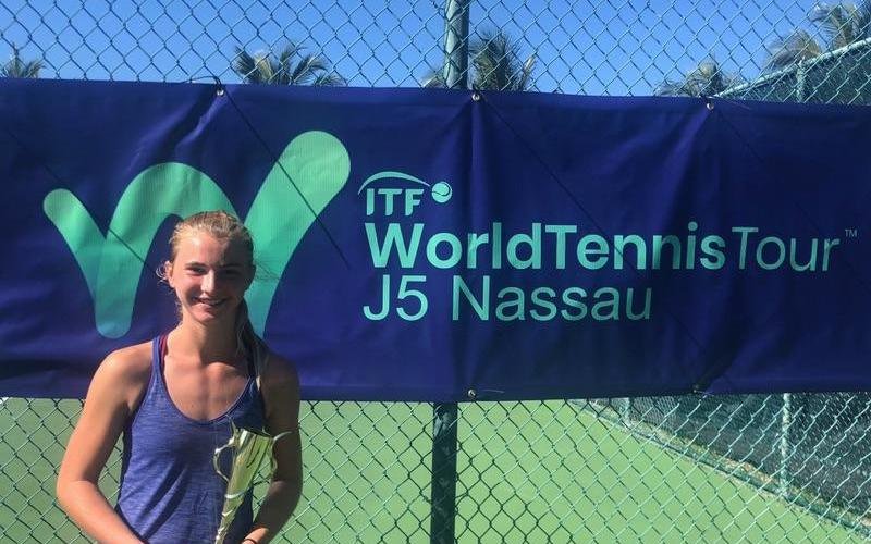 Inspiration Academy Tennis Student Brooklyn Olson Wins Two ITFs In A Row