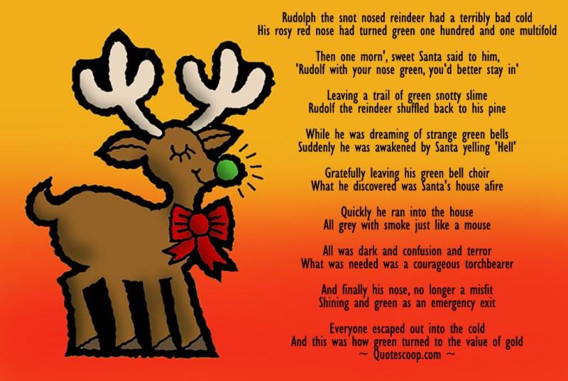 12 humorous and funny christmas poems s