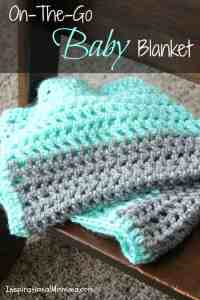 On-The-Go Crochet Baby Blanket