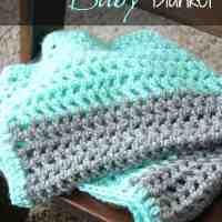 On-The-Go Crochet Baby Blanket