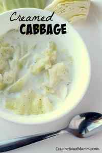 Easy Creamed Cabbage