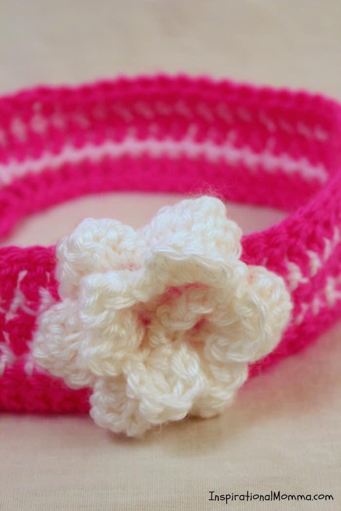 Easy Crochet Toddler Headband