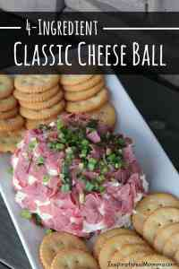 4-Ingredient Classic Cheese Ball