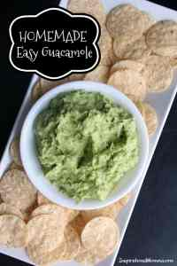 Homemade Easy Guacamole