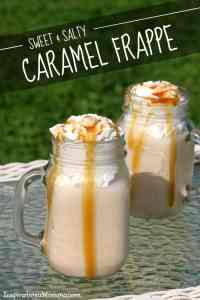 Sweet & Salty Caramel Frappe