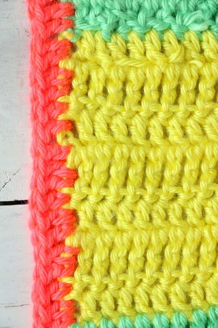 Varied Double Crochet Triple Crochet Blanket ...