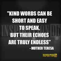 Mother Teresa Quote Poster
