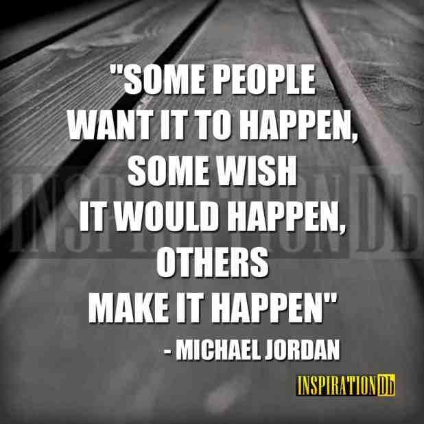 Michael Jordan Quote Poster