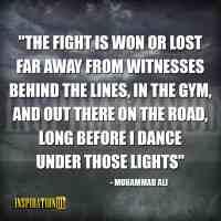 Muhammad Ali Quote Poster