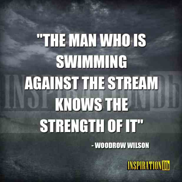 Woodrow Wilson Quote Poster