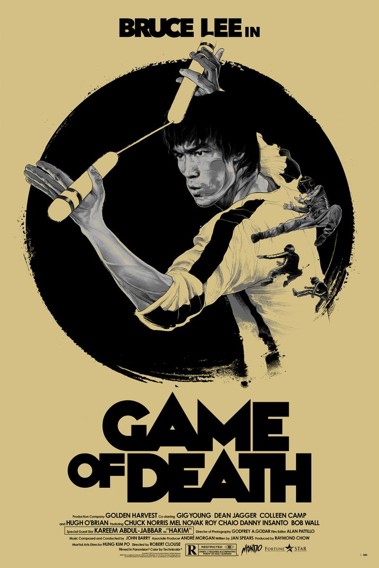 Bruce Lee in Game of Death on Inspirationde