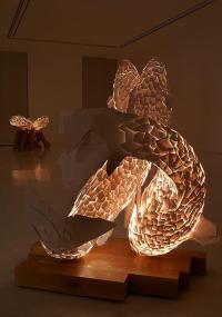 Fish Lamp Sculpture on Inspirationde