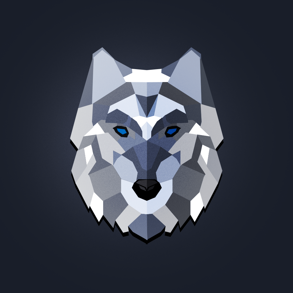 Animal Face Wallpaper A Lonely Wolf On Inspirationde