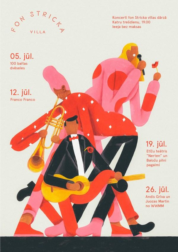Fon Stricka Villa Poster Design Inspirationde