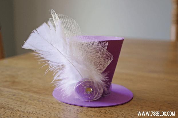 Mini Foam Top Hat Tutorial Inspiration Made Simple