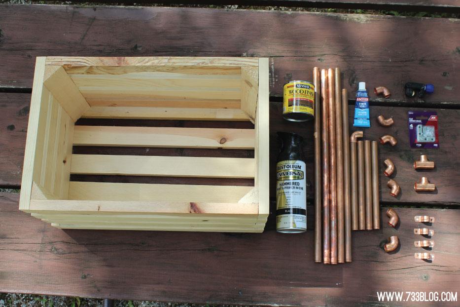 diy crate nightstands inspiration