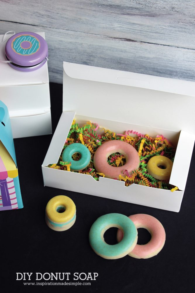 DIY Donut Soap Party Favor Inspiration Made Simple