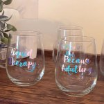 Diy Sassy Wine Glasses Inspiration Made Simple