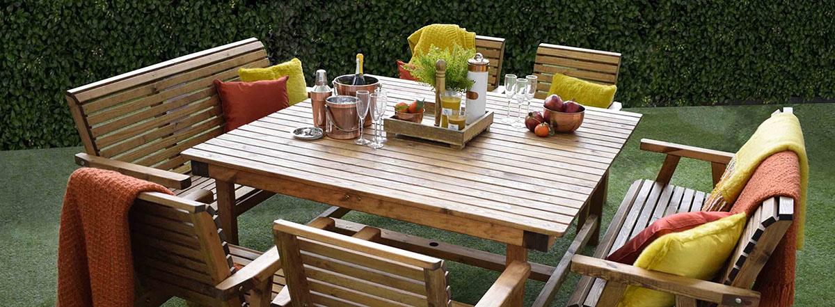 rustic outdoor dining area ideas