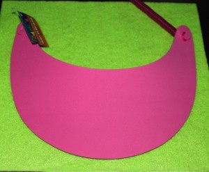 Visor on Felt Sheet