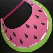 Watermelon Foam Visor