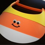 Candy Corn Visor with Glow in the Dark Wiggle Eyes