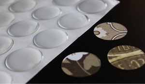 "Epoxy Circle Stickers and 1"" Paper Circles"